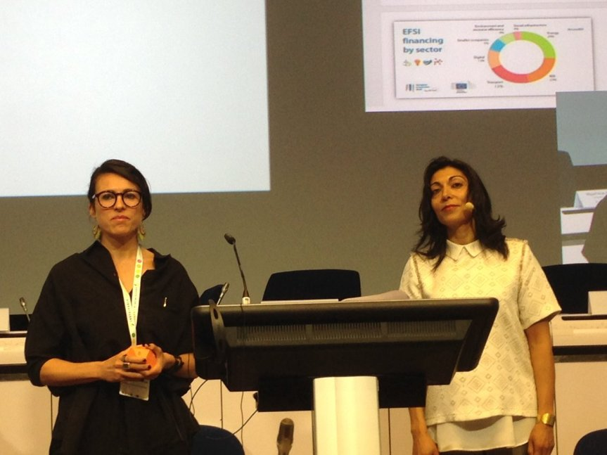 Designers for Humanity present at the EUSEW 2016 sustainability week in Brussels