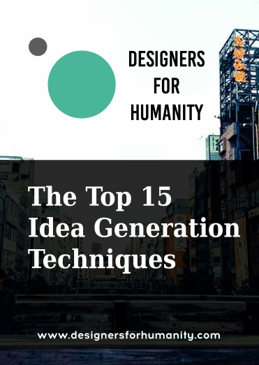 Top 15 IUdea Generation techniques