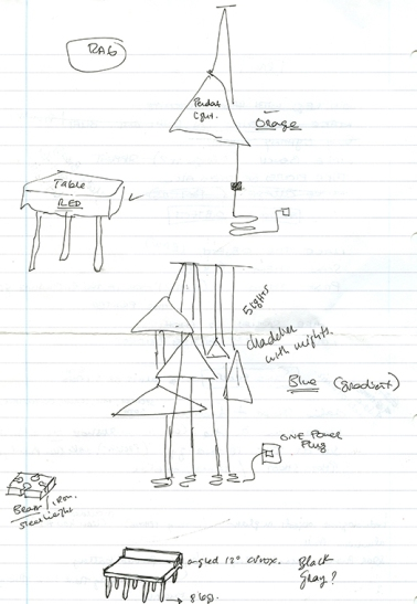 Rag furniture sketch