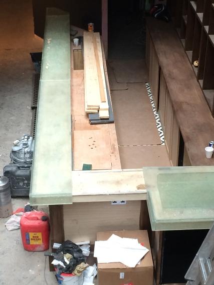 large bar top