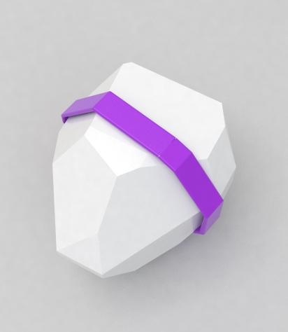 shaker w purple rubber band