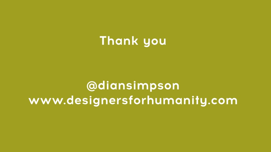 designers for humanity